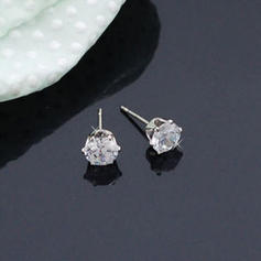 Brillant Alliage Zircon de Dames Boucles d'oreille de mode
