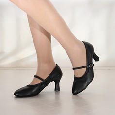 Femmes Modern Style Jazz Talons Similicuir Modern Style